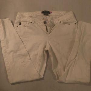 White torrid Jeans